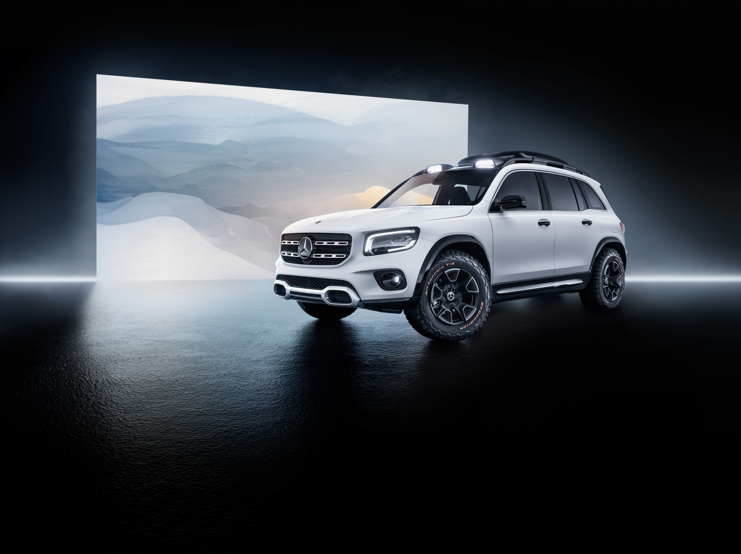 concept glb is the rugged tyke of the mercedes benz compact clan