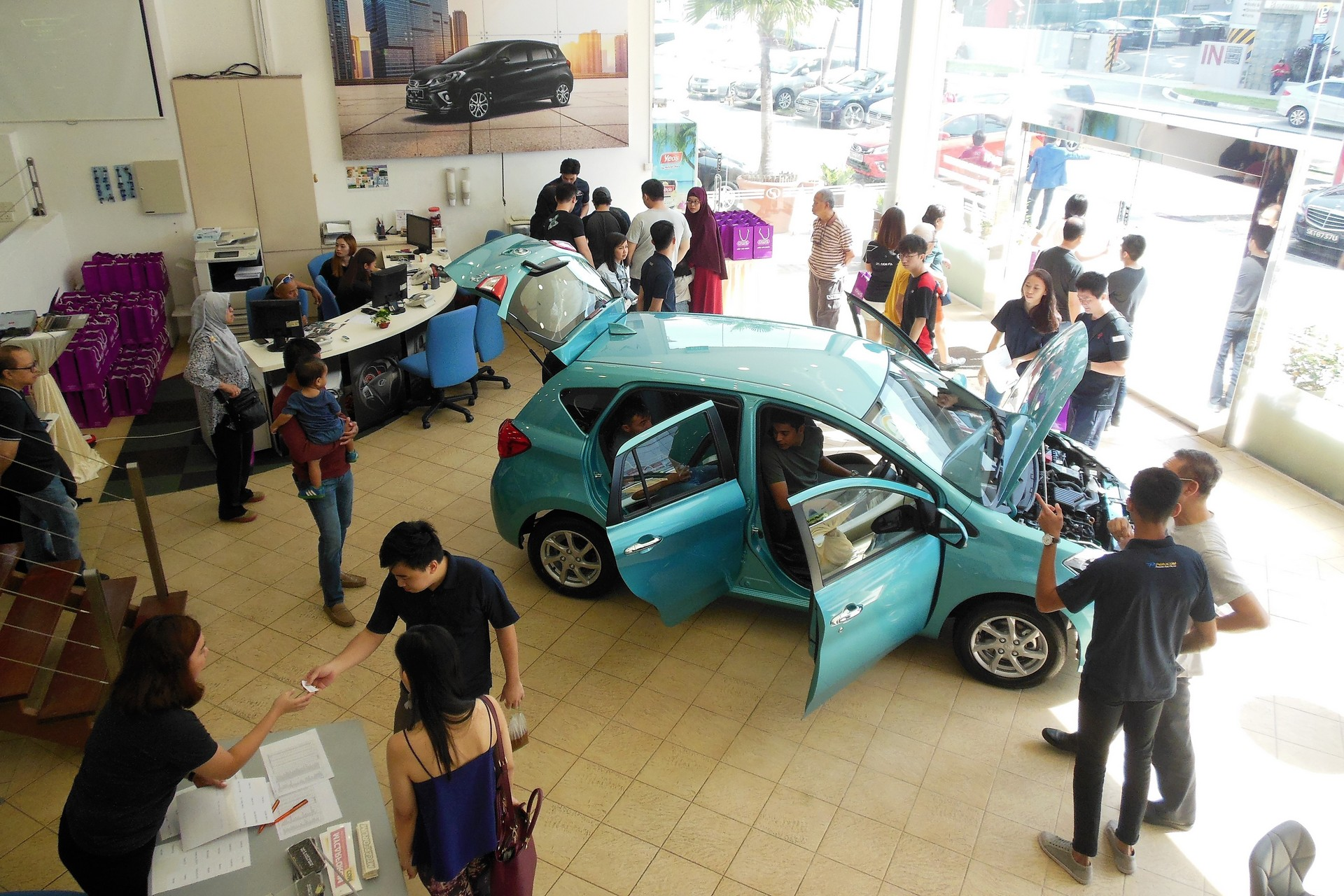 singapore gets the new myvi and you might want to sit down for the price