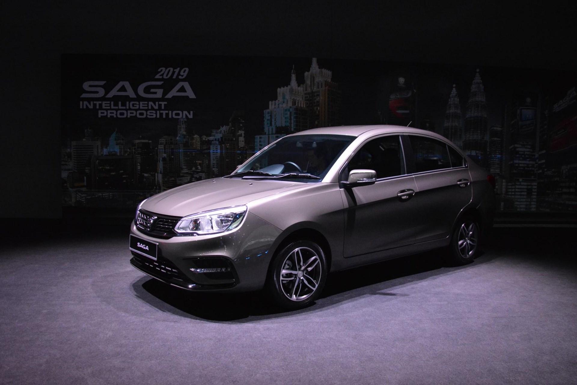 the 2019 proton saga ditches the cvt for a four speed auto