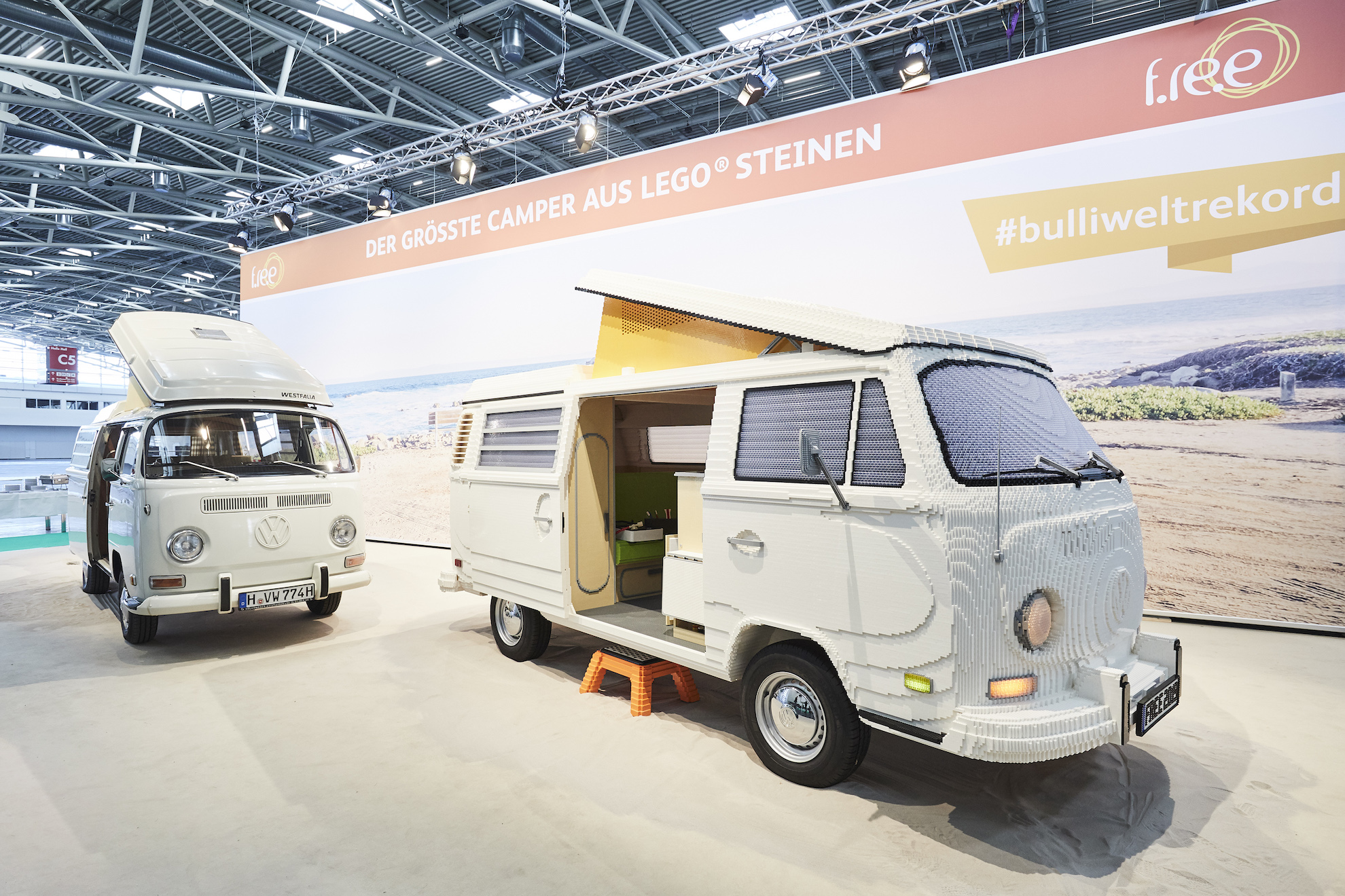 yes a full size lego volkswagen camper van t2 exists