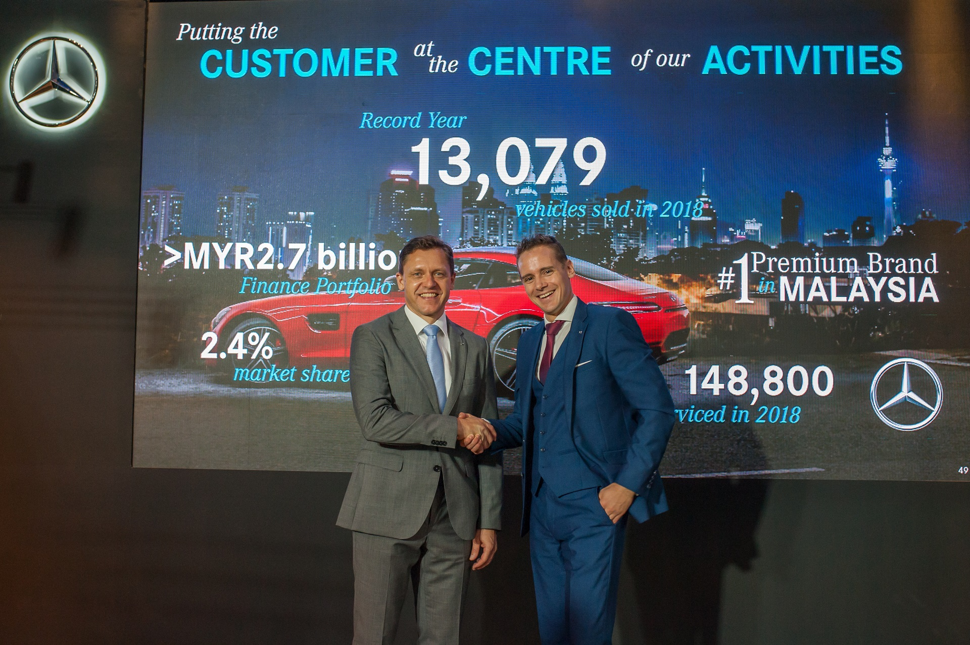 another year another mercedes benz sales record