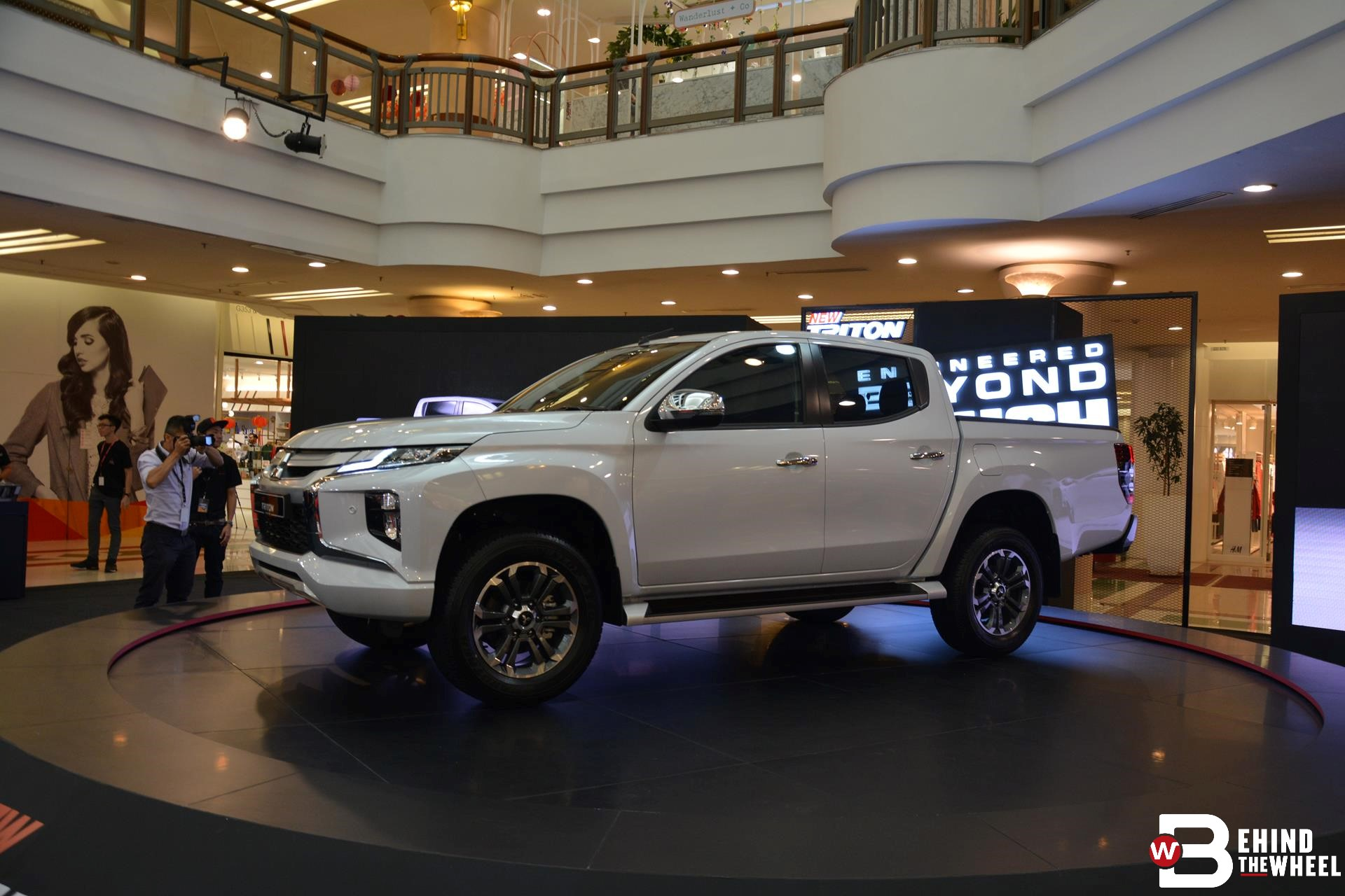 mitsubishi s triton is ready to stare down the competition