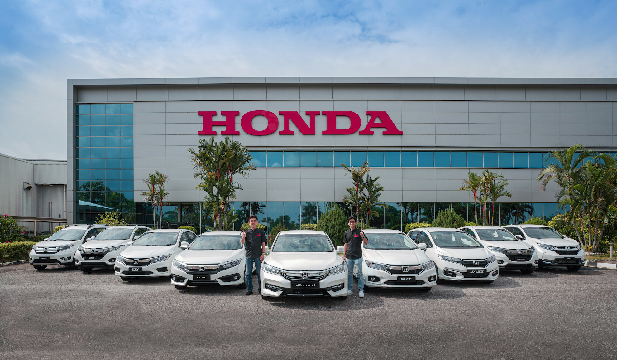 honda malaysia to hit 900k vehicles sold will give away nine vehicles