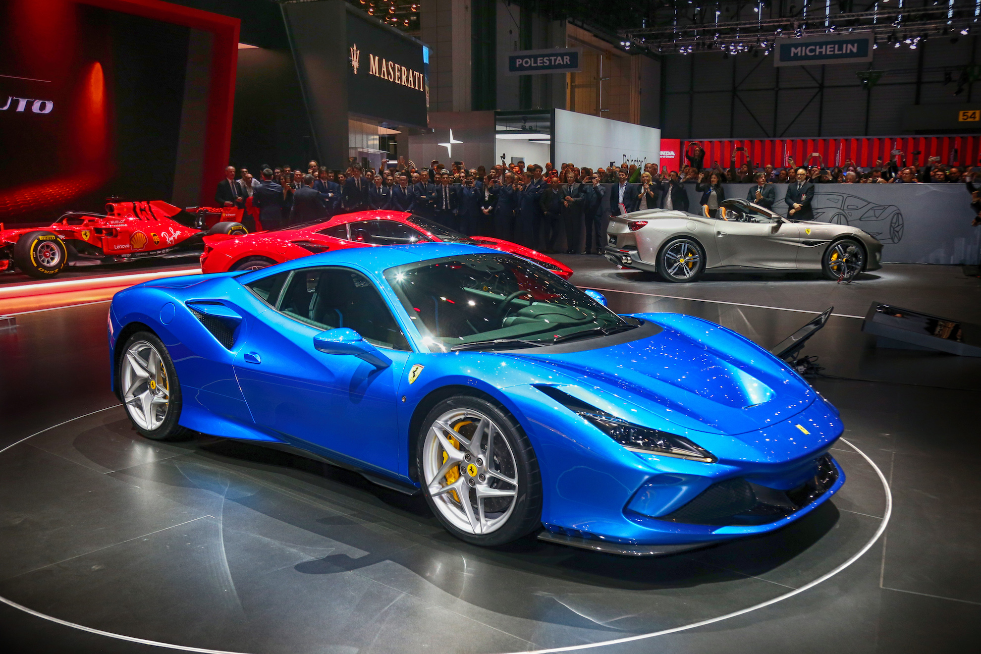 the ferrari f8 has the most potent ferrari v8 engine ever