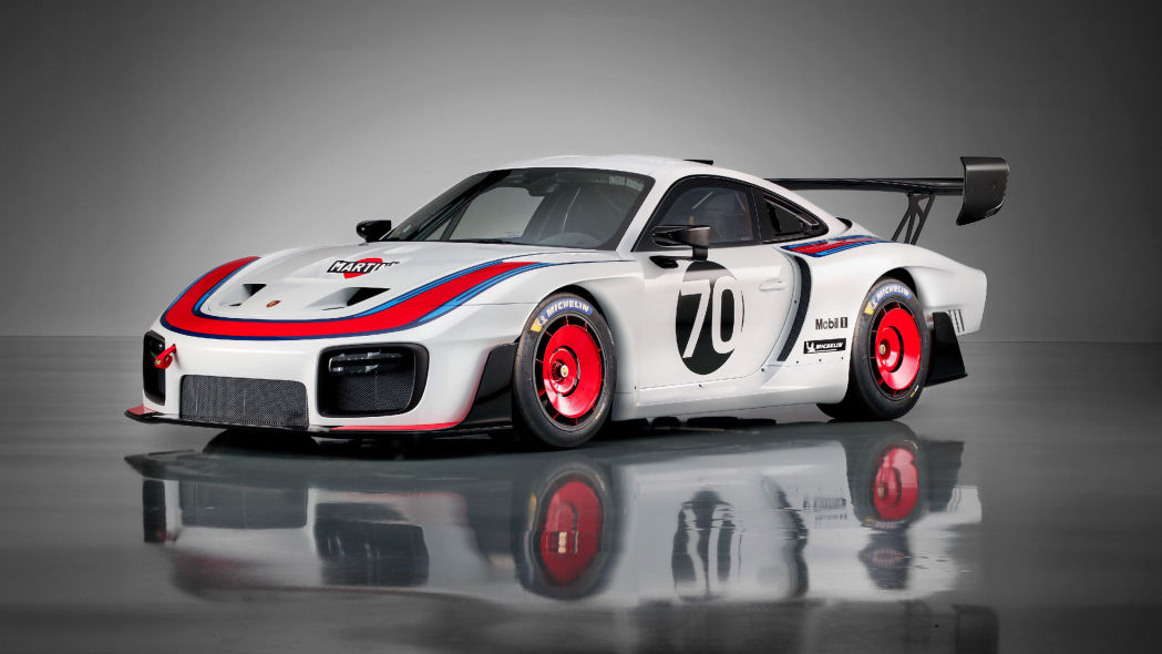 porsche pitches a tent in our pants with throwback liveries on the new 935