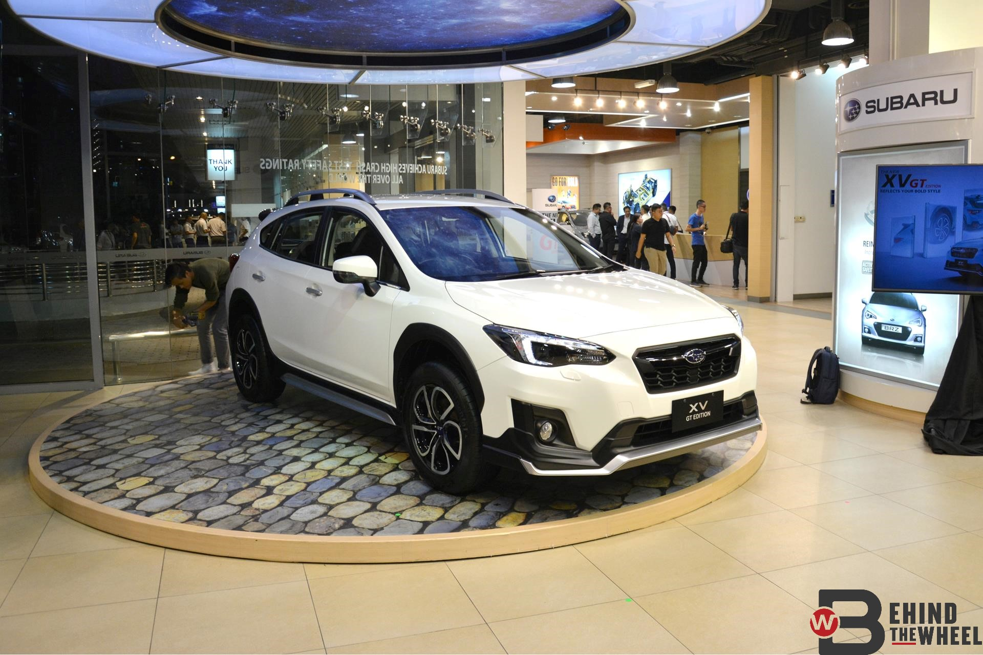 there s nothing remotely gt about the subaru xv gt