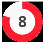 8 Rating