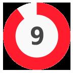 9 Rating