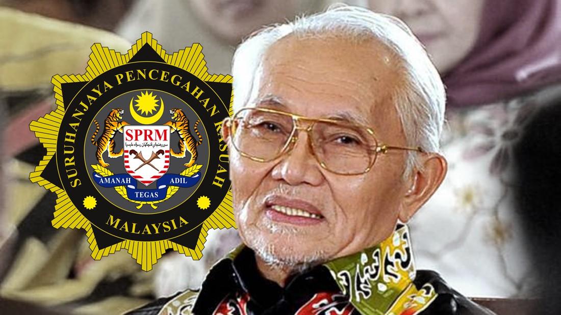 反贪会无新证据,无法控查前砂州首长泰益玛目