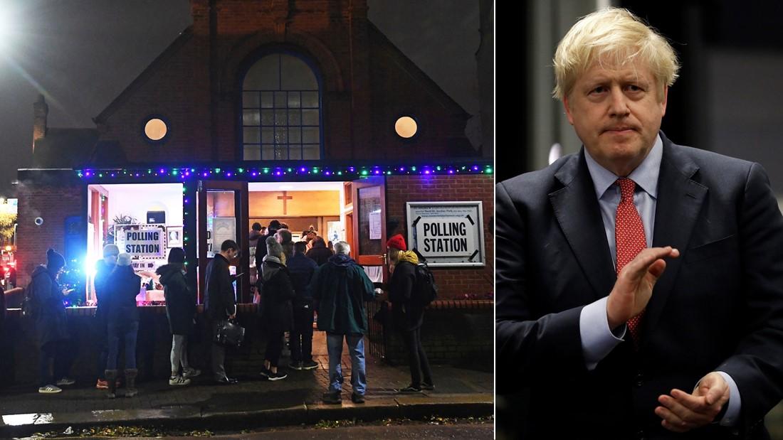 英国大选保守党大获全胜,约翰逊:一定会如期脱欧!