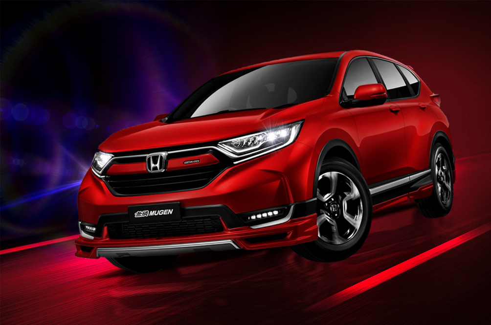 Honda Just Made The CR-V Bolder And Sportier With The Mugen Limited Edition