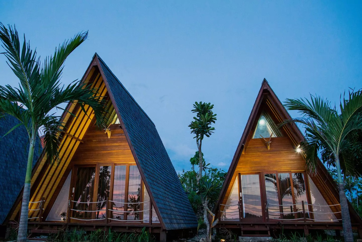 Luxurious cottages for the luxurious you.