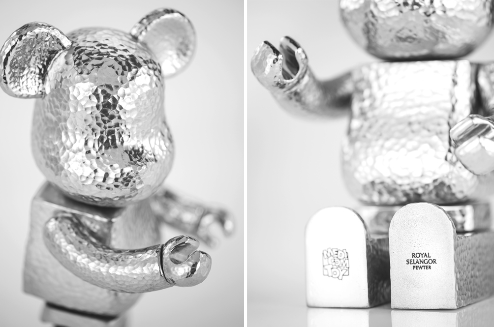 It's BE@RBRICK'S Turn To Get The Royal Selangor Treatment