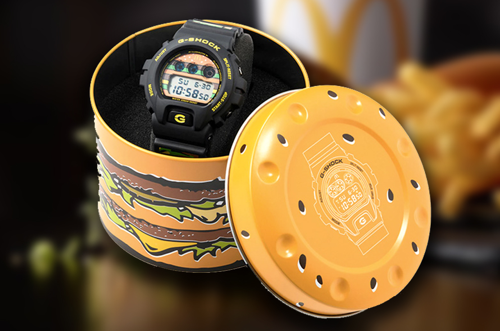 We Are Absolutely McLovin' This Big Mac G-Shock Watch!