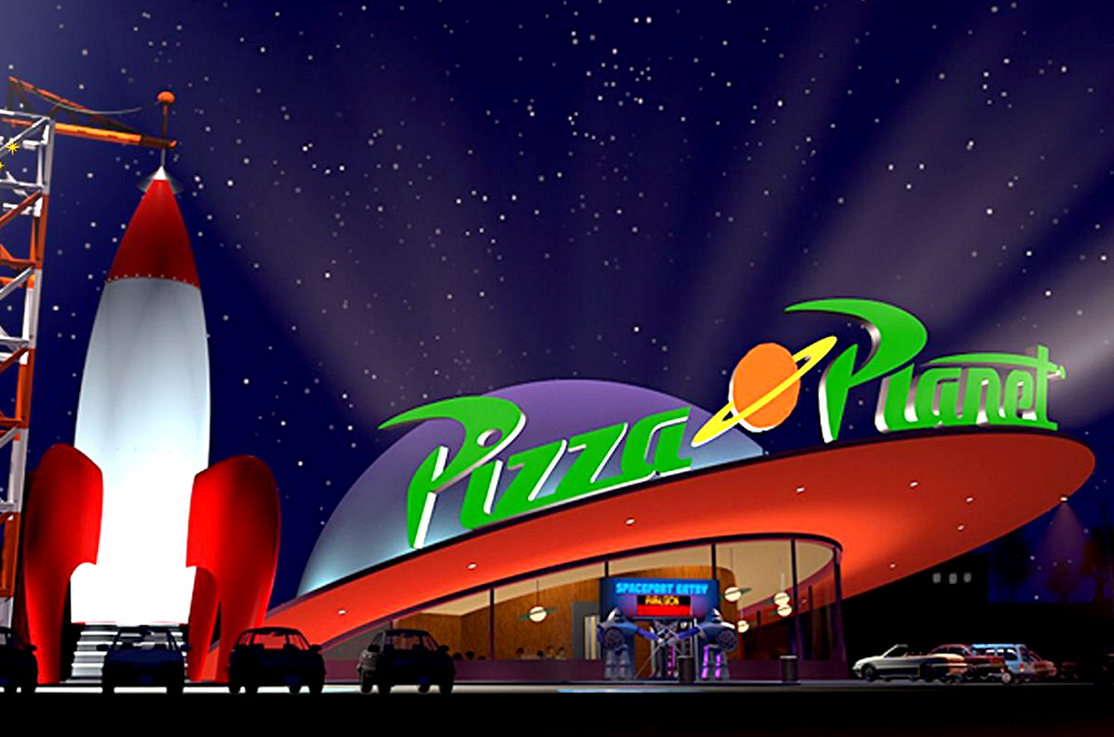 Disney Is Bringing Toy Story's Pizza Planet To Life!