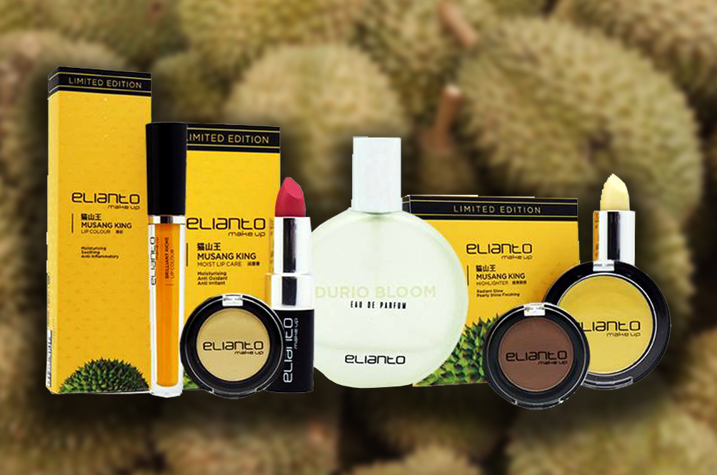 Elianto's Musang King Durian Makeup Collection Is Now Available For Purchase