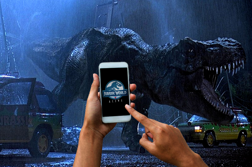 There's A 'Jurassic Park' Augmented Reality Mobile Game