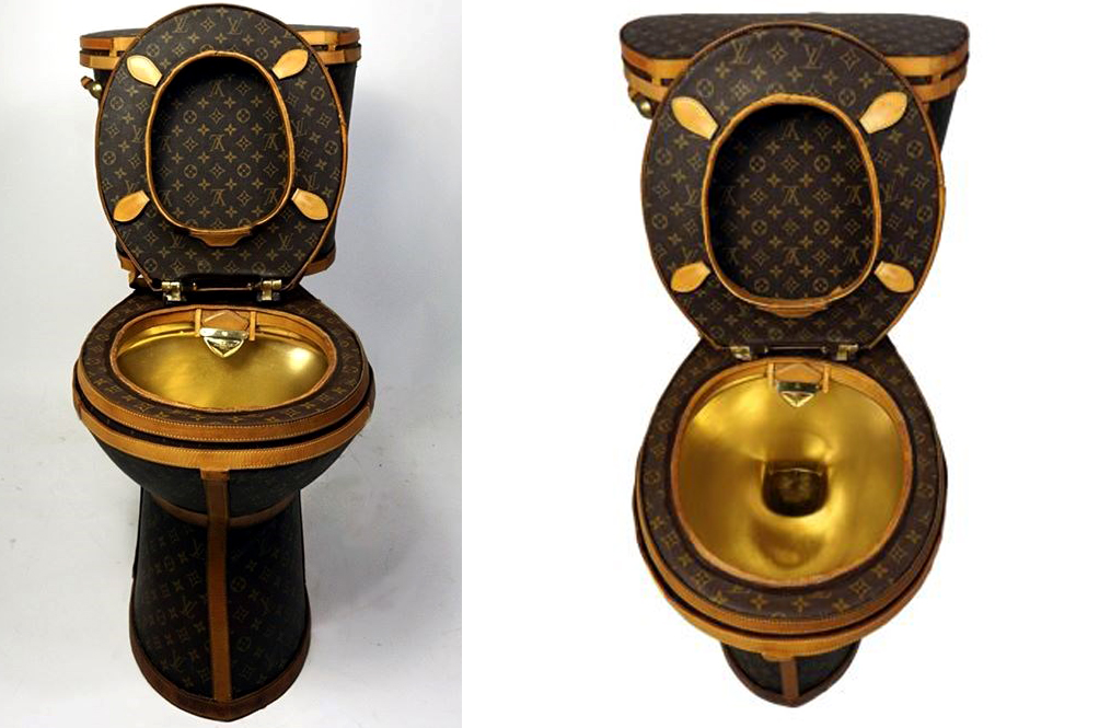 Image result for louis vuitton toilet