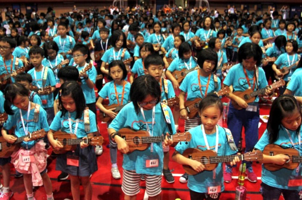 These Malaysian Children Are Now Proud Owners Of A National Record