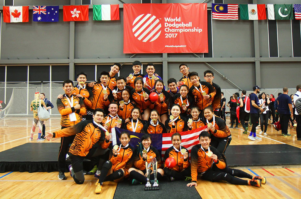 It's Official: Malaysian Men's And Women's Dodgeball Teams Are World Champs!