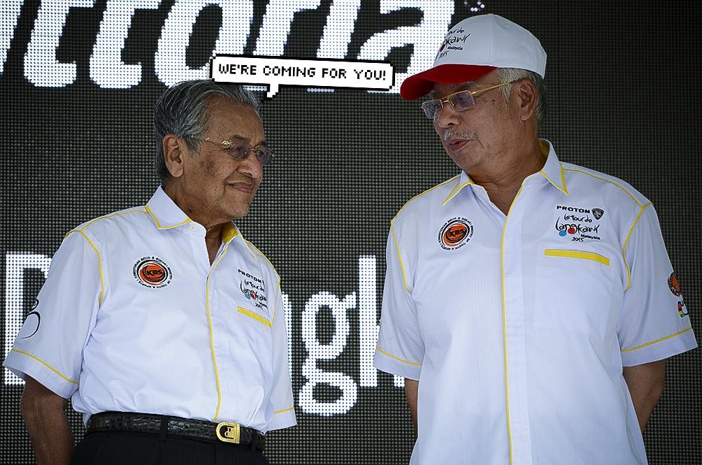 Tun Dr M Says Najib Razak Will Be Arrested 'Any Time Soon'