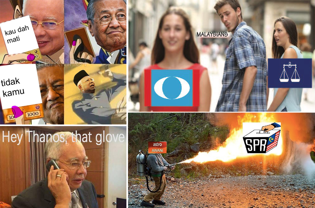 #GE14: Malaysian Netizens Bring Out The Funny Memes