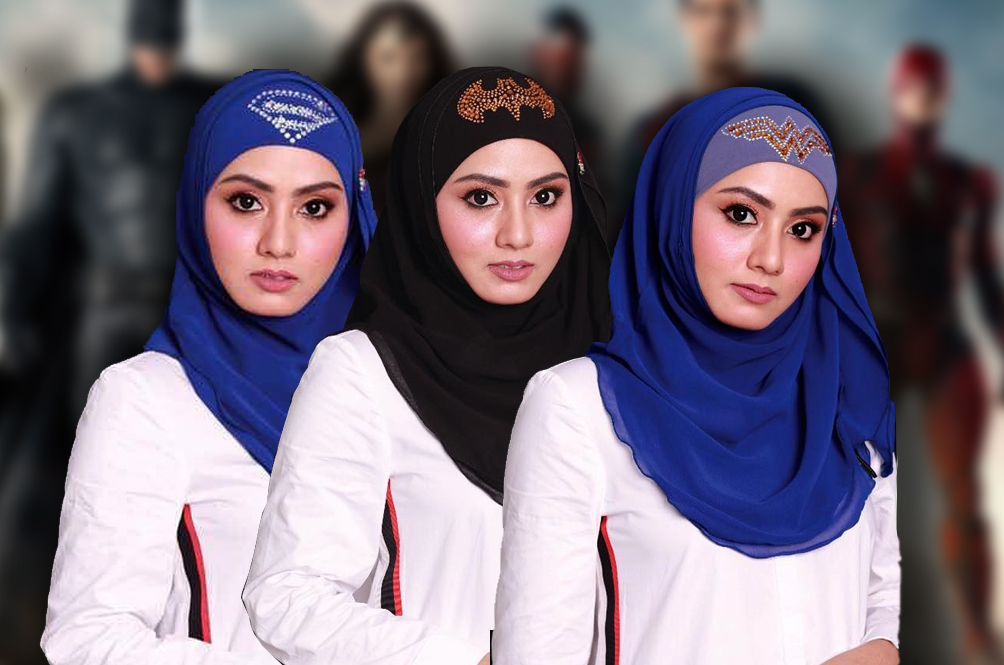 Save The World (And Celebrate Raya) With These Exclusive Superhero Hijab