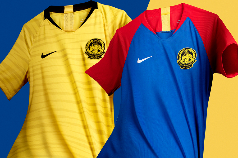 quality design ac95c 57a19 The New Malaysian National Football Team Jerseys Are Here ...