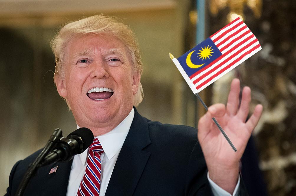 US President Donald Trump May Pay Malaysia A Visit Soon