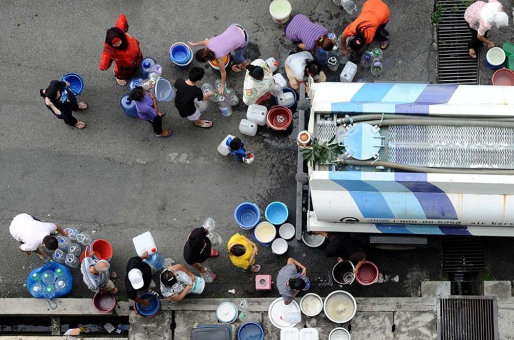 Water Supply Disruption: You Could Try And Get Water From These Nine Centers