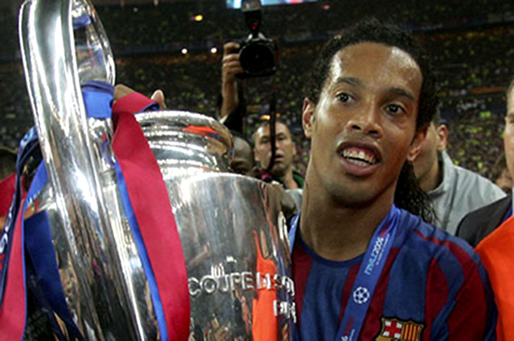 Ronaldinho (And The UEFA Champions League Trophy) Is Coming To Malaysia!