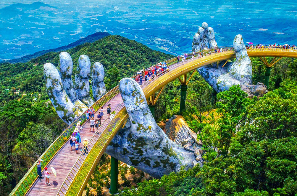 These Pictures Of Vietnam's Golden Bridge Will Make You Wish You Were There