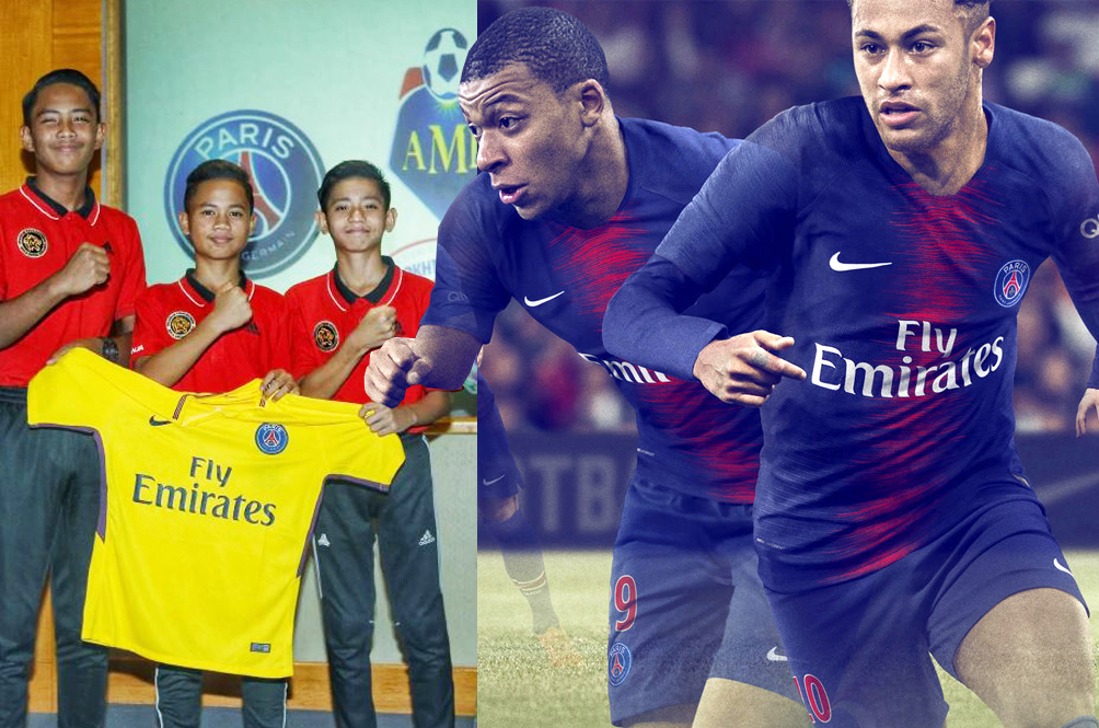 Three Young Malaysians Selected To Play For French Club PSG