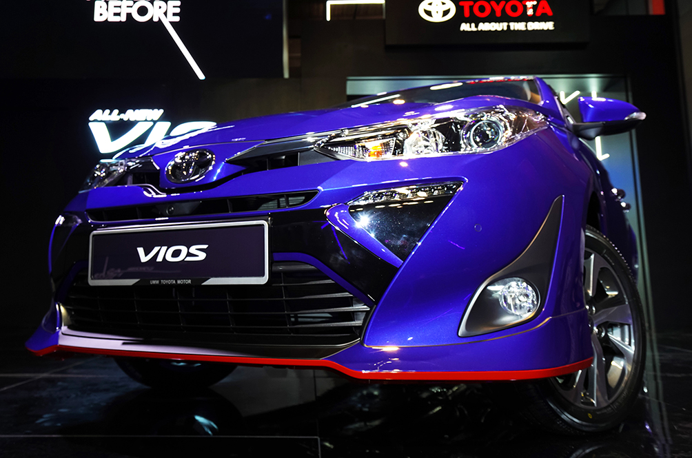 Here's What's New With The All New 2019 Toyota Vios
