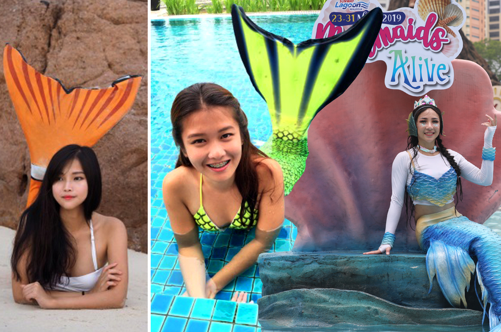 Four Malaysian Girls Share What It's Like To Become A Real-Life Mermaid