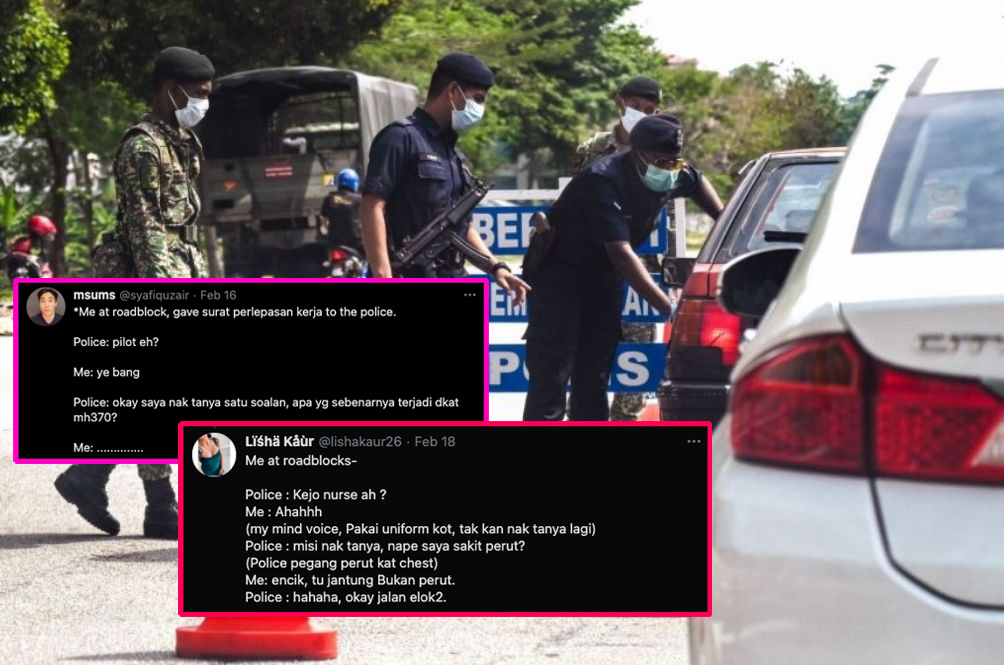M'sians Share Hilarious Conversations With Our Abang Polis At Roadblocks