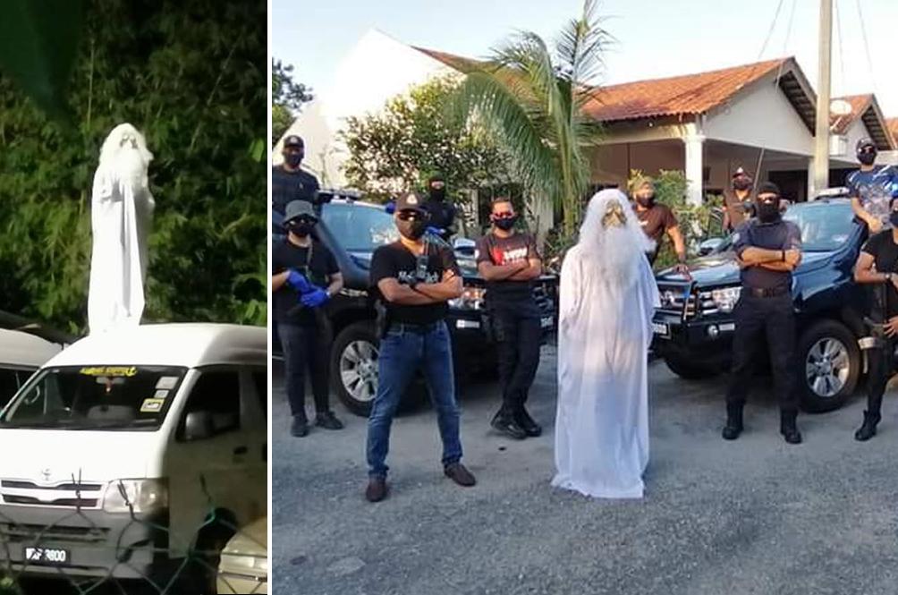 Terengganu 'Hantu' Is So Scary, Terengganu Cops Paid Him A Visit