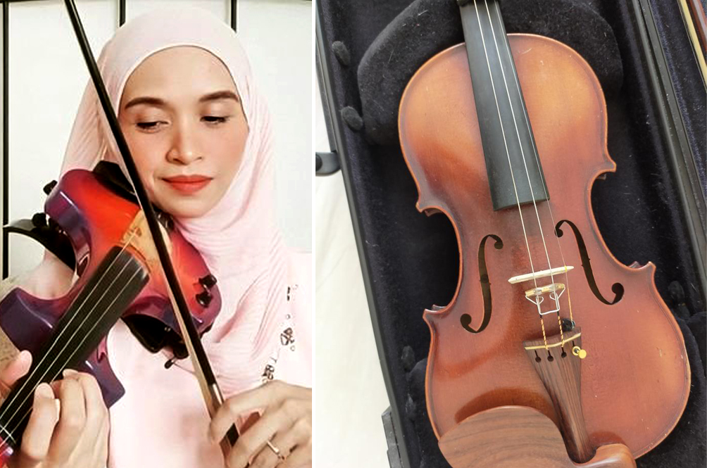 For The Love Of Family: Perak Musician Selling Off Prized Violin For RM20,000 To Care For Ill Father