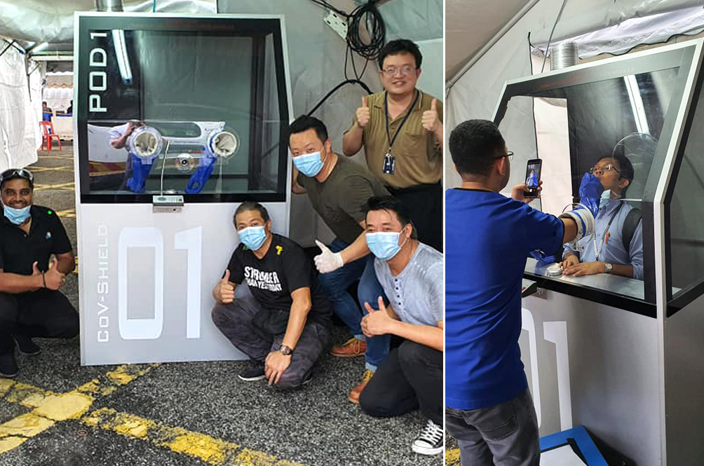 #MYHero: M'sians Build Pressure Pod To Help Medical Frontliners Care For COVID-19 Patients