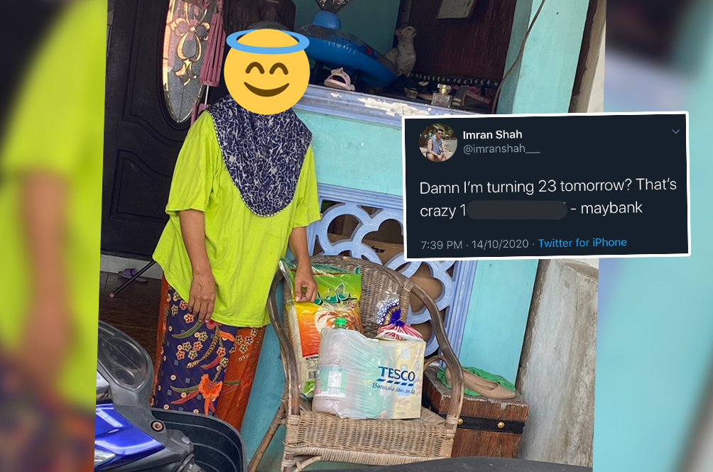 Law Student Uses Money Donated By Kind M'sians After A Joke On Twitter To Help B40 Families