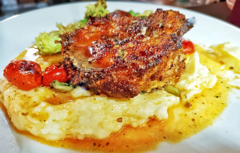 Artichoke Oven Roasted Rosemary Chicken.