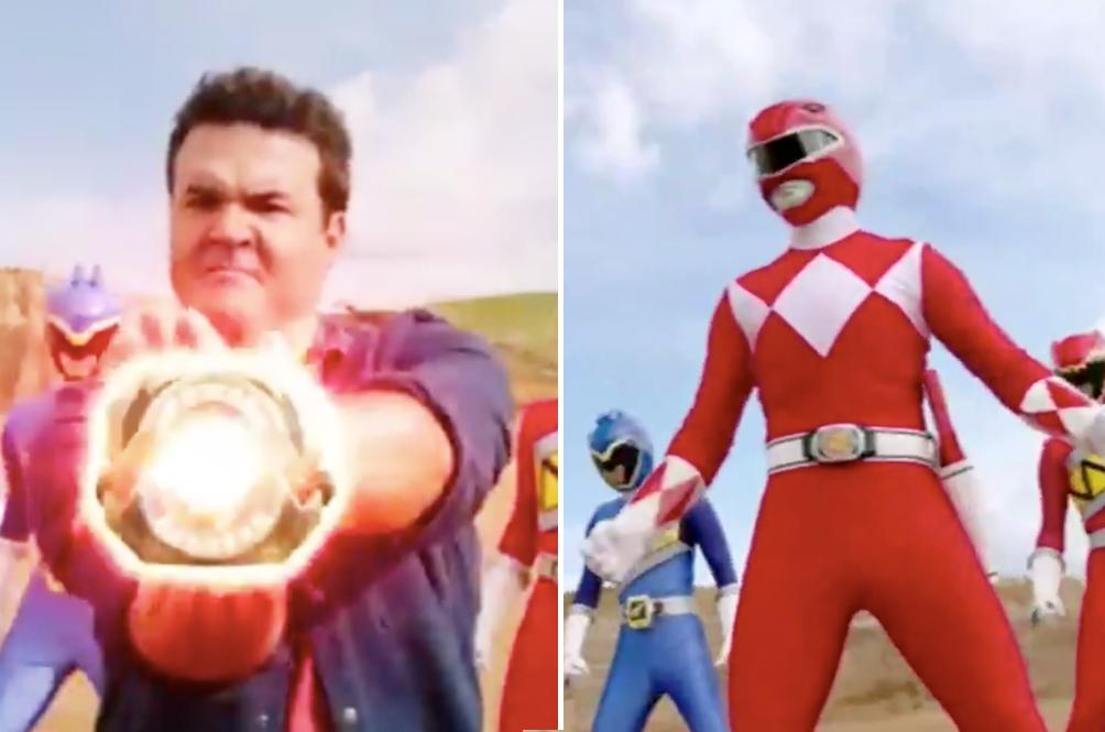 It's Morphin' Time: Watch The OG Red Ranger, Jason, Morph Into A Power Ranger For Old Times' Sake