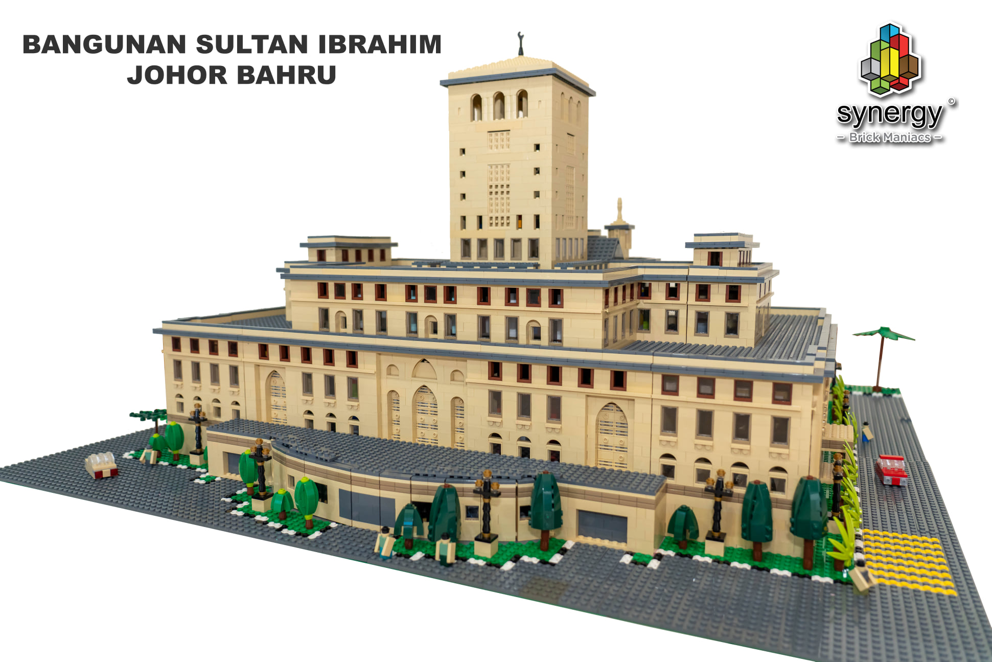 A rendering of the building.