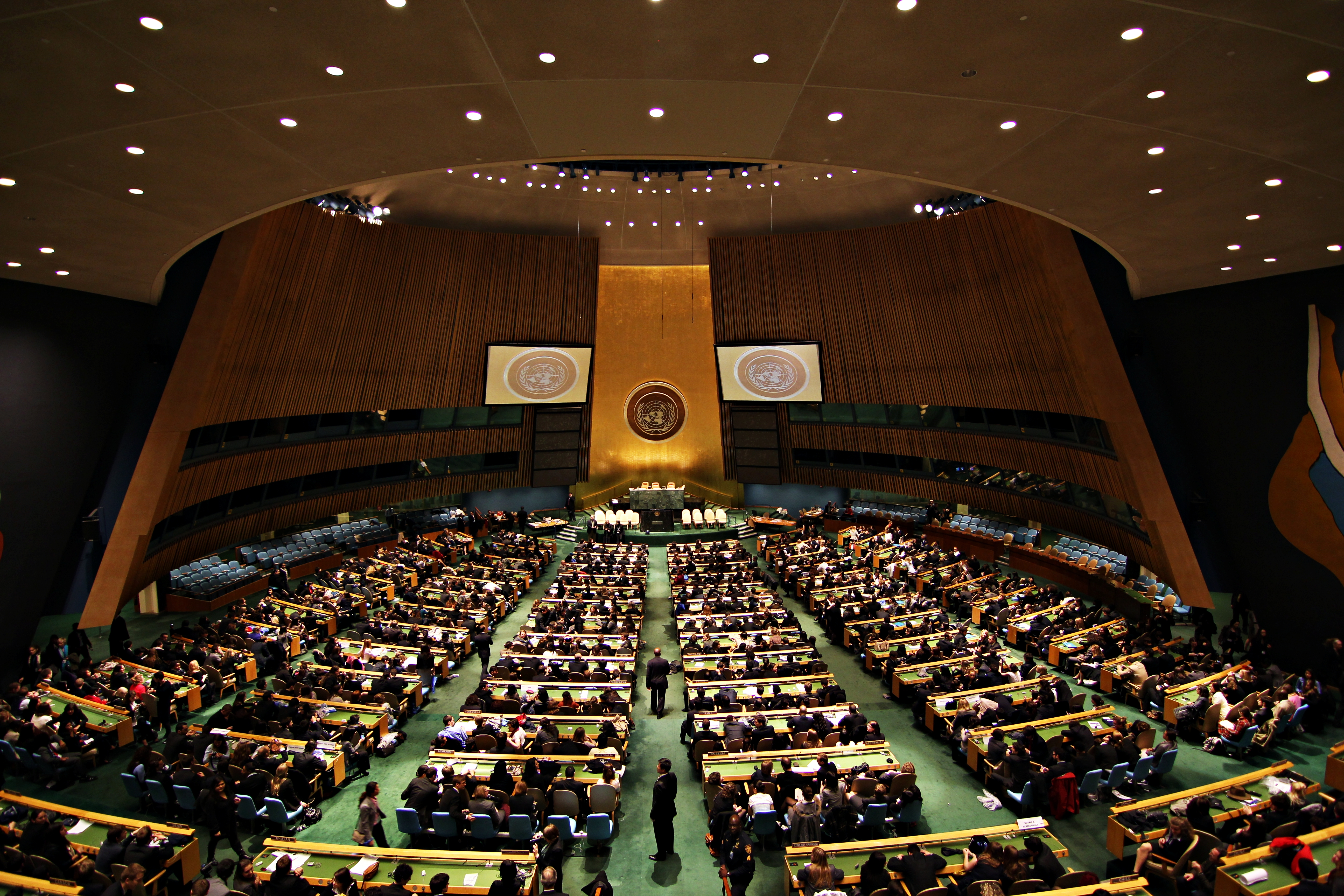 You know it's a big deal when a topic is raised at the United Nations General Assembly.