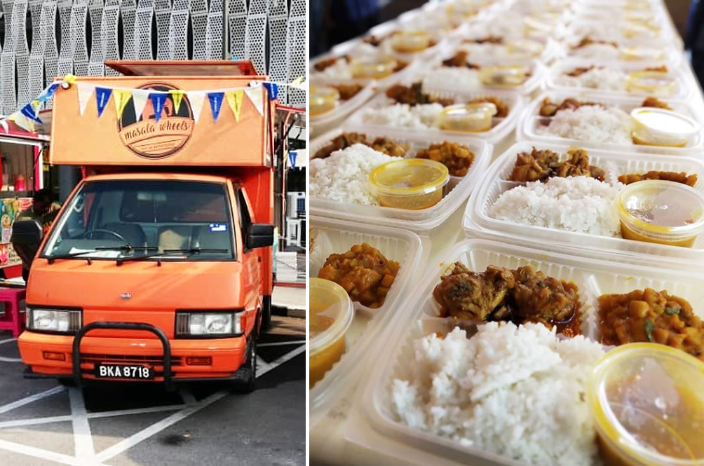 Local Food Truck Provides Food For The Needy With Sponsorship From Kind Malaysians