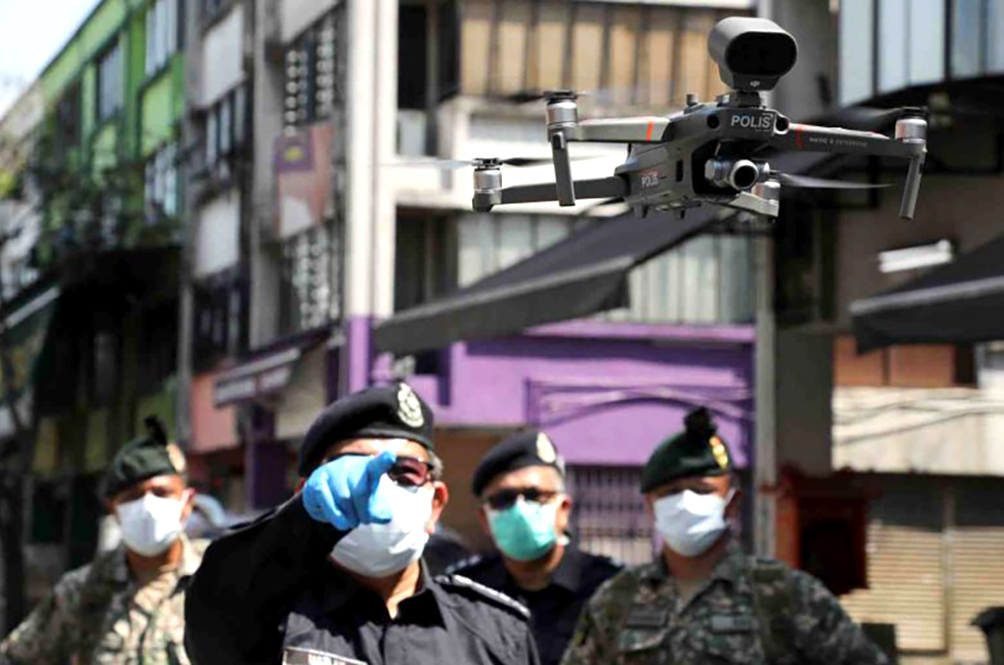 Local Authorities To Use Latest 'Weapon' Against Stubborn M'sians: Heat-Sensing Drones!