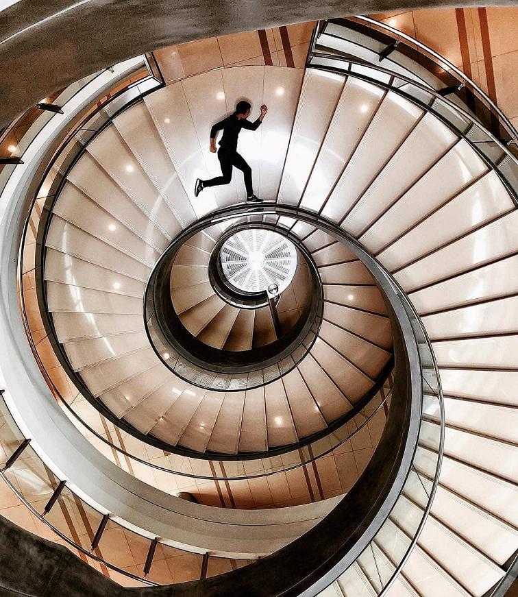 Stairway to Instagram heaven.