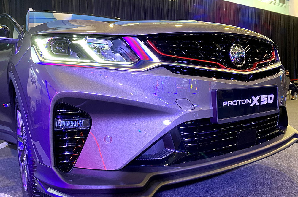 4 New Things We Learnt About The Proton X50 From The Performance Media Drive