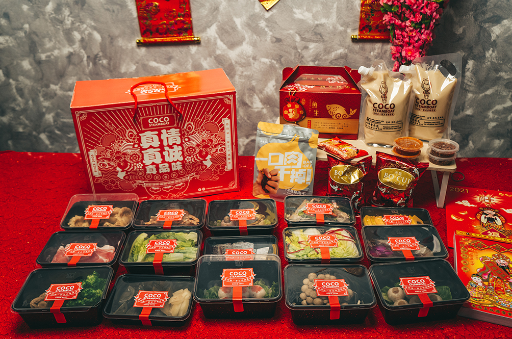 Can't Go To The Steamboat? Let The Steamboat Come To You With Coco's CNY 'Dabao' Sets