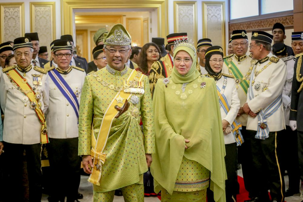 The Agong will be personally interviewing all MPs.